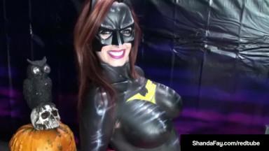 BatGirl, Shanda Fay, Gives BJ