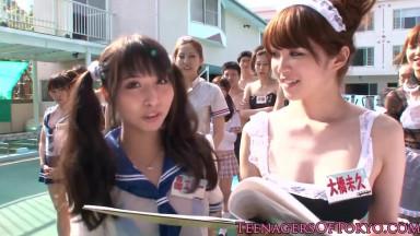 Japanese Cosplay Girls Doing Sex Games