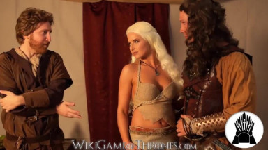 Game of Thrones Daenerys Khaleesi Pay for a Daario's Army With Fuck